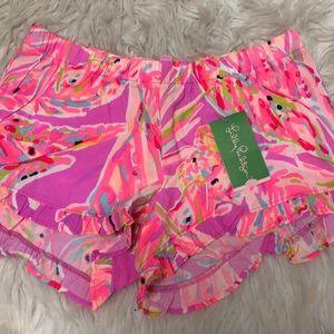 lilly pulitzer flowy shorts